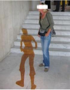 My Travelling Shadow • 365cm x 90cm • Latex